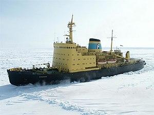 vessel KRASIN IMO: 7359644, Icebreaker
