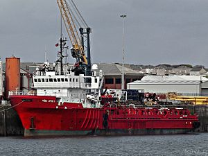 vessel African Spirit IMO: 8111001, Offshore Tug Supply Ship