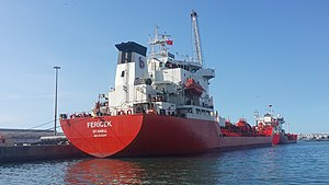 vessel Fericek IMO: 9125267, Chemical Oil Products Tanker