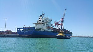 vessel Abidjan Express IMO: 9303807, Container Ship