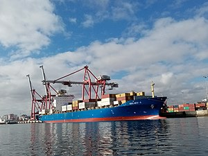 vessel Adelheid s IMO: 9303766, Container Ship