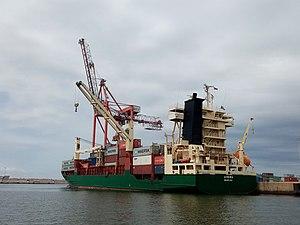 vessel Avera IMO: 9252797, Container Ship
