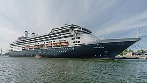 vessel Ms Rotterdam IMO: 9122552, Cruise Ship