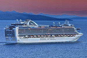 vessel Ruby Princess IMO: 9378462, Cruise Ship