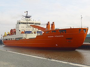 vessel Akademik Tryoshnikov IMO: 9548536, Icebreaker