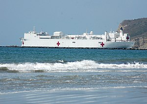 vessel Usns Mercy IMO: 7390454, Naval Naval Auxiliary