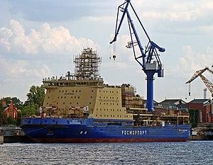 vessel Viktor Chernomyrdin IMO: 9658630, Icebreaker